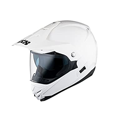 Casque moto cross Enduro IXS HX 207 - M - Blanc