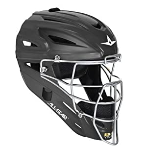 Buy ALL-STAR MVP2500M Matte Finish Adult Catchers Helmet - Scarlet by All-Star