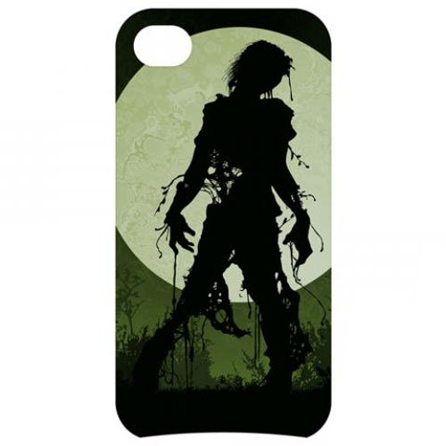Omg! Iphone 5 Phone Cases Interactive Color-Changing Led Cell Cover Awesome And Cool Designs (Zombie Moon)