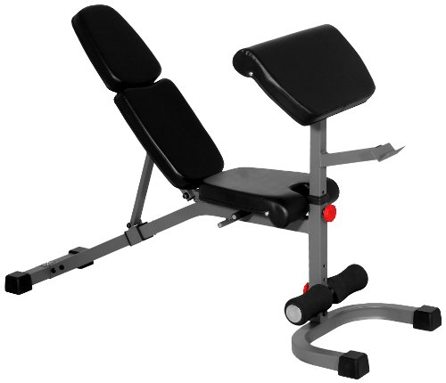 Cheap Xmark Fitness Fid Weight Bench With Preacher Curl Best Deal Weight Training Benches