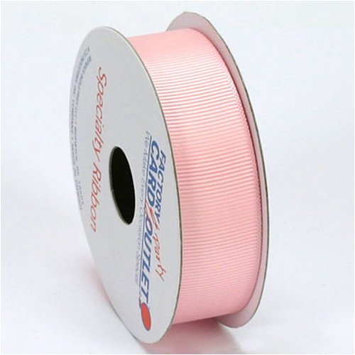 Pink Grosgrain Ribbon - 7/8'W (12 spools, totaling 120 yards)