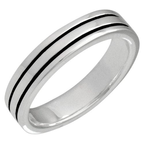 German Wedding Ring 29 Elegant VINANI German Sterling Silver