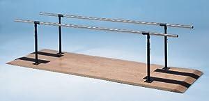"Medline Height-Adjustable Parallel Bars - Parallel bars 26"" width height adjustable from 28"" to 41"""