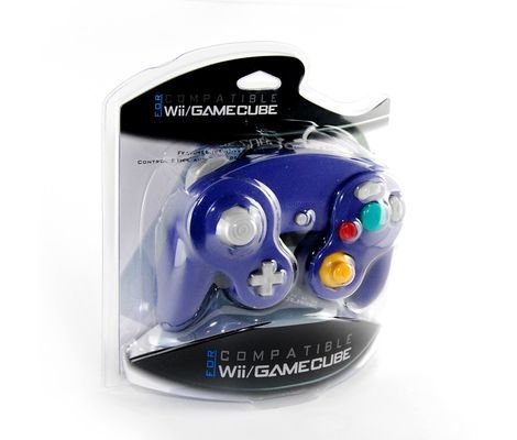 Gamecube Controller with Rumble Purple GC/Wii New