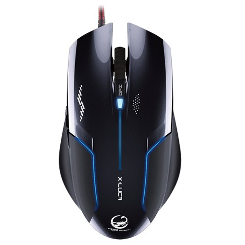 eb01a2b65ad NEW Team Scorpion X-Luca 2400dpi Optical Gaming Mouse MS001, Black ...