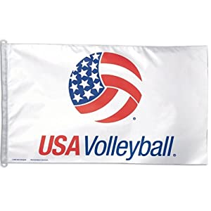 USA Volleyball Official OLYMPICS 3ftx5ft Banner Flag by WinCraft