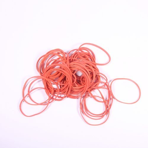 Bandastic Rubber Band Blasters - 50 Amber Rubber Bands : RBB-33 - 1