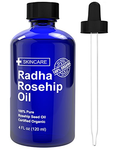 Radha Beauty Rosehip Oil - 100% Pure Cold Pressed