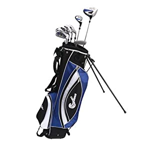 Confidence Golf Mens Power Hybrid Club Set Stand Bag by Confidence