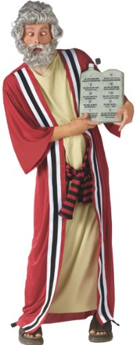 [Moses and the 10 Commandments of Party Costume - Plus Size - Chest Size 48-53] (Moses Costume Ten Commandments)