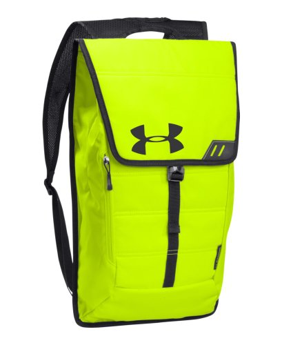 Under Armour Tech Pack Sackpack, High-Vis Yellow, One Size Fits All