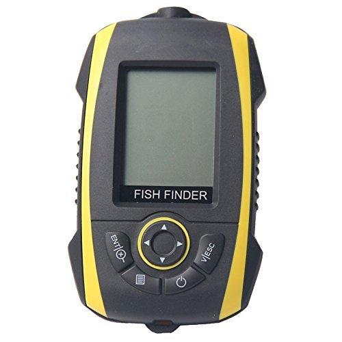 Signstek FF-011 Wireless Fish Finder FishFinder With Round Sonar Sensor White LED Backlight
