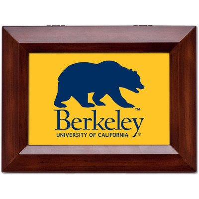Collegiate Music Jewelry Box Finish: Wood Grain, Ncaa Team: University Of California Berkeley - Golden Bears