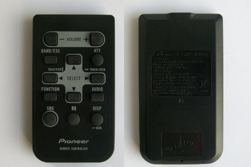 Pioneer Qxa3303 Remote Control For Car Radio Receiver Cd Player
