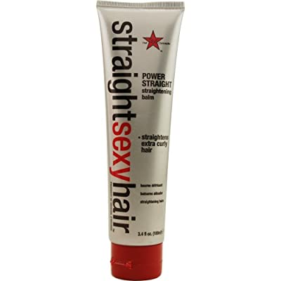 Sexy Hair Power Straightening Balm for Unisex, 3.4 Ounce