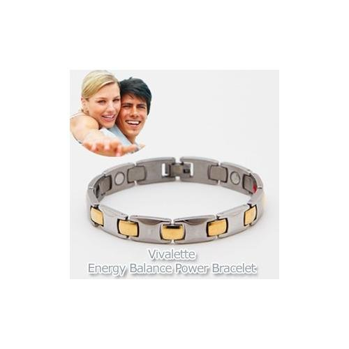 VIVALETTE ENERGY BALANCE BRACELET. Magnetic Therapy Germanium and Far Infrared Technology all in one