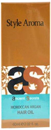 スタイルアロマ エンシェント シークレッツ &K モロッカンアルガン ヘアオイル 60ml Style Aroma スタイルアロマ ヘアオイル