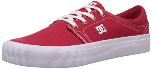 DC ShoesTRASE TX M SHOE - Scarpe da Ginnastica Basse Unisex - Adulto , Rosso (Rot (RDW)), 43
