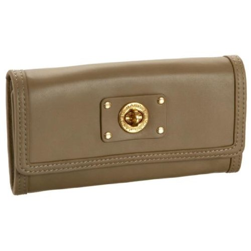 Marc Jacobs Totally Continental Wallet Wild Mushroom