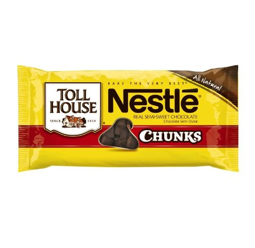 Nestle Toll House Semi Sweet Chocolate Chunk Morsels, 11.5-Ounce Packages (Pack of 12) (Lil Chunk compare prices)