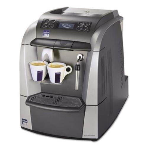 Lavazza 10080632 Blue 2312 Espresso/Cappuccino Machine, 1 gal Tank, Silver/Gray, 18.6