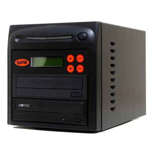 Systor 1-1 M-Disc Support CD DVD Replication Recorder Burner Multiple Duplicator 24X SATA with USB Connection