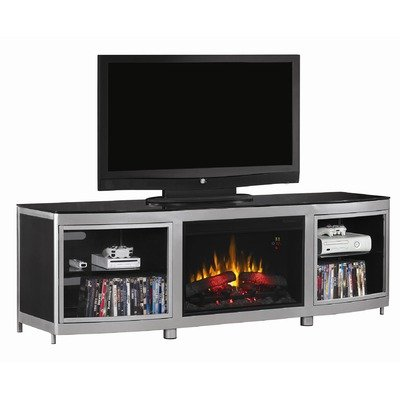Gotham Media Mantel in Silver Powder Coating 26MM9313-D974 MANTEL ONLY picture B005VGRR7M.jpg
