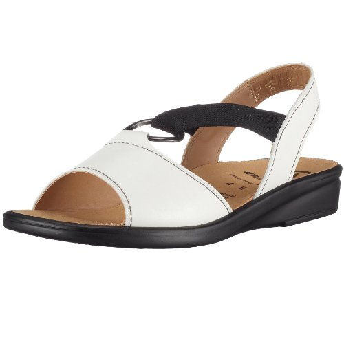Ganter Fashion Sandals Womens White weià (weiÃ/schwarz0201) Size: 4.5 (37.5 EU)