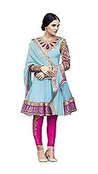 Indiweaves Casual Wear Salwar Suit Dress Material