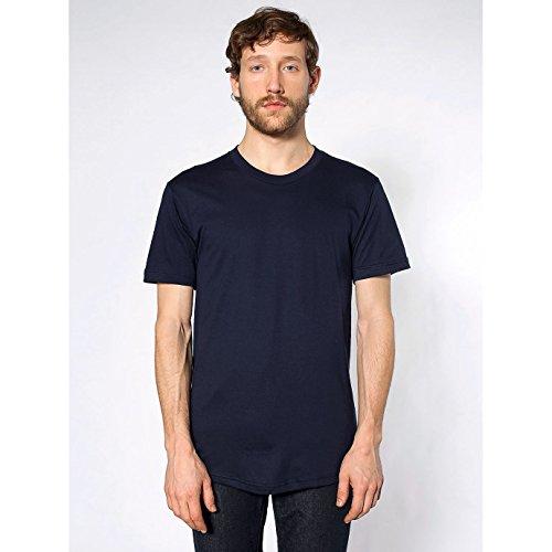 american-apparel-unisex-plain-short-sleeve-cotton-t-shirt-l-navy