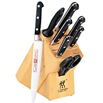 Big Sale Zwilling J.A. Henckels Twin Pro S 9-Piece Knife Set with Block