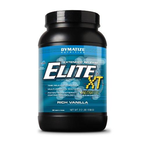 Dymatize Nutrition Elite, Rich Vanilla, 2.2 Pound