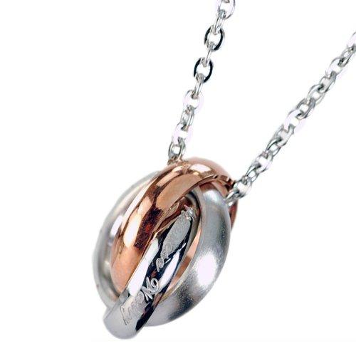Hermes jewelry SERMENTS triple ring ペアネックレス series ladies