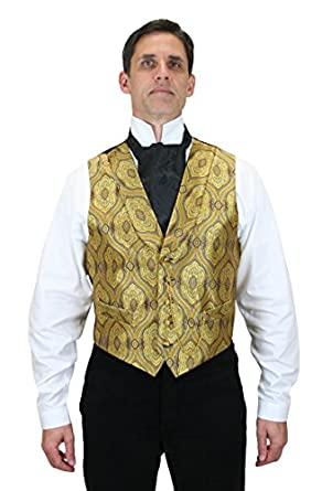 Men's Vintage Inspired Vests Kingsley Dress Vest $64.95 AT vintagedancer.com