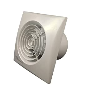 """Envirovent SIL100T """"Silent"""" Bathroom Extractor Fan - for 4"""" 100mm ducting"""