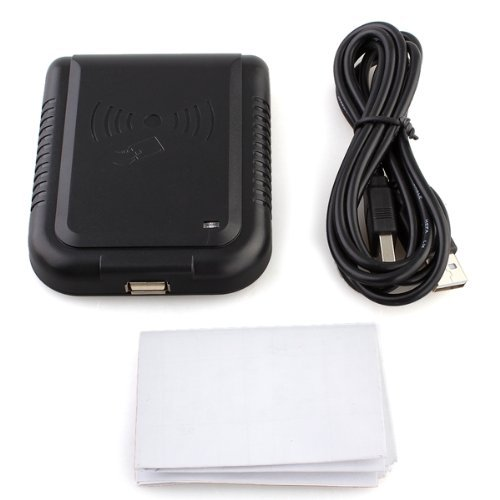 TOOGOO(R) USB RFID Contactless Proximity Sensor Smart IC Card Reader 125Khz (Rf Proximity Sensor compare prices)