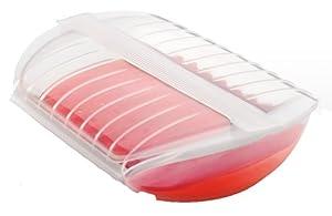 Lékué Papillote Transparente avec Filtre Rouge 1400 ml Luki