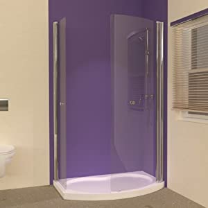 small bathroom ideas uniarc hinged walk in shower