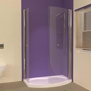 Small Bathroom Ideas Uniarc Hinged Walk In Shower Enclosure With Tray Diy Tools