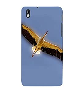 99Sublimation Bird with Big wings 3D Hard Polycarbonate Back Case Cover for HTC Desire 816