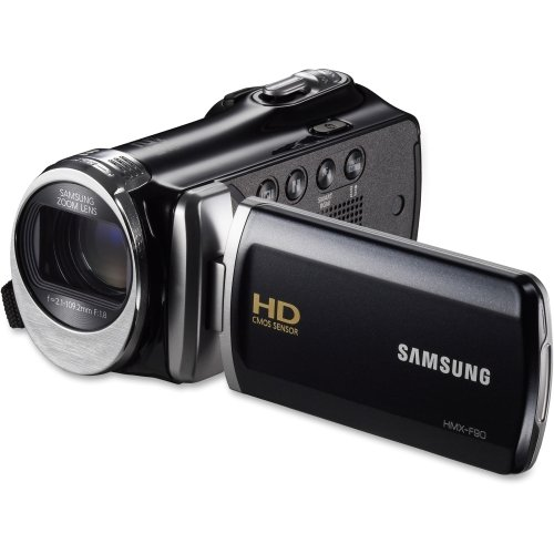 SASHMXF90BNXAA - Samsung HMX-F90 Digital Camcorder - 2.7 LCD