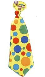 Forum Jumbo Polka Dot Clown Tie