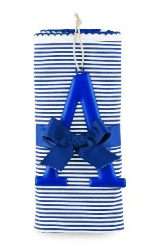 Mud Pie Cotton Receiving Blanket, A/Blue