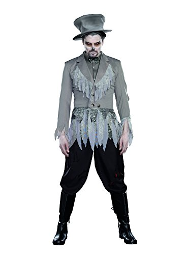 [Dreamgirl Men's Groom Of Doom Costume, Gray, XX-Large] (Dead Groom Costume)