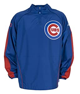 MLB Chicago Cubs Convertible Cool Base Gamer Jacket by Majestic
