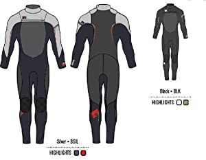 Buy Body Glove Mens 4 3mm Fusion Neo Zip Full Wetsuit by Body Glove