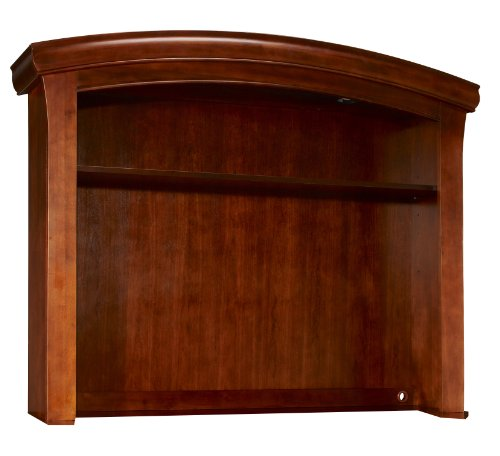 Westwood Design Stratton Hutch with Touchlight,Virginia Cherry