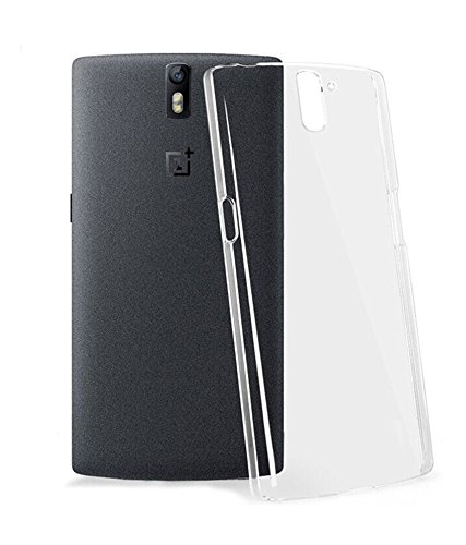 JAIFAON Crystal Clear Transparent Hard Back Case Cover For OnePlus One