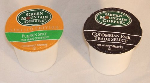 Green Mountain Colombian, And Green Mountain Pumpkin Spice Coffee K-Cups Variety Pack For Keurig Brewers (Pack Of 80) front-244864