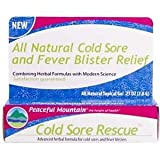 Peaceful Mountain Cold Sore Rescue Gel, 0.27 Oz